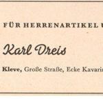 Dreis Heimatkalender 1952