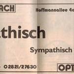 Klever Wochenblatt 1989